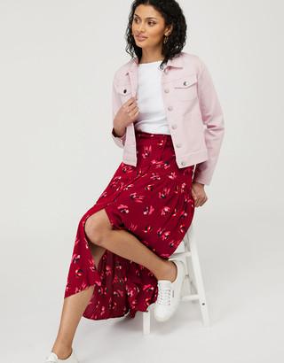 Under Armour Elda Denim Jacket with Organic Cotton Purple