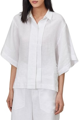 Equipment Chaney Kimono-Sleeve Blouse