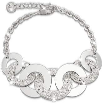 Rebecca R-ZERO Rhodium Over Bronze Bracelet