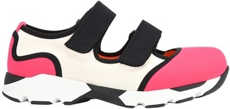 Marni Technical Fabric Sneakers With Strap Closures
