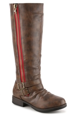 Journee Collection Lady Extra Wide Calf Riding Boot