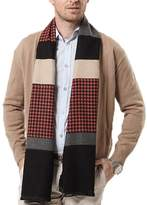 Panegy Men's Muffler Winter Scarves Cashmere Shawl Long Business Warm Waps