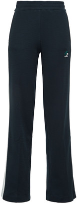 Twenty Montreal Embroidered Two-tone Cotton-blend Jacquard Track Pants