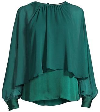 Trina Turk Eastern Luxe Preston Layer Blouse