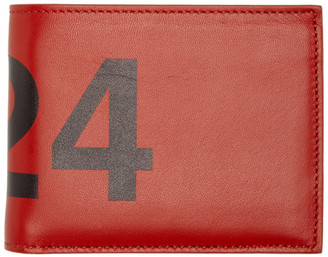 424 Red Leather Wallet