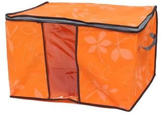 Unique Bargains Home Clothes Beddings Zip Lock Storage Bag Organizer Container