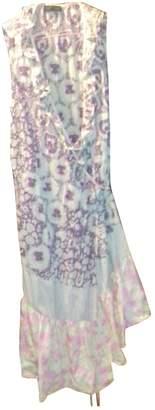 Ikks \N Burgundy Cotton Dress for Women