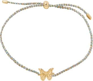 Gorjana Butterfly Charm Slider Bracelet