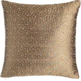 "Austin Horn Collection Vienna Beaded Pillow, 17""Sq."