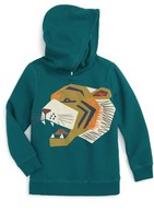 Tea Collection Toddler Boy's Tora Graphic Fleece Hoodie