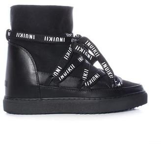 INUIKII Classic Laces Wedge Sneaker