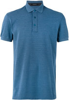 Ermenegildo Zegna short sleeve polo shirt - men - Silk/Cotton - 48
