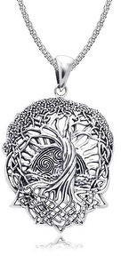 Bling Jewelry Sun Celtic Knot Tree of Life Pendant Roots of Life Sterling Silver