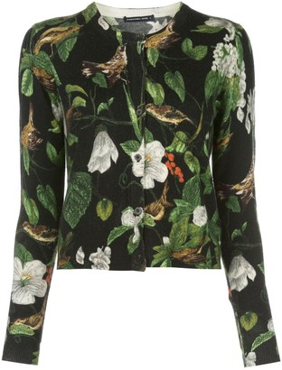 Samantha Sung Carolina printed cardigan