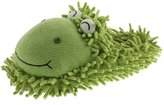 Aroma Home Aromahome Womens Fuzzy Frog Novelty Slippers 9.5 Medium (B,M)