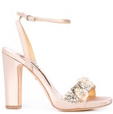 Badgley Mischka embellished Alexa sandals