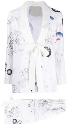 Seen Users Gemini horoscope-print suit