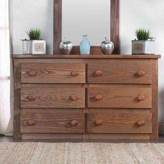 Foundry Select Edgerton Rafael 6 Drawer Double Dresser