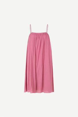 Samsoe & Samsoe Karla Short Dress, Heather Rose - XS/34 | cotton | pink - Pink/Pink