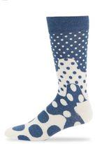 Happy Socks Unisex Spotted Crew Socks
