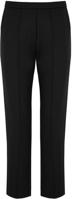 Vaara Alicia black slim-leg trousers