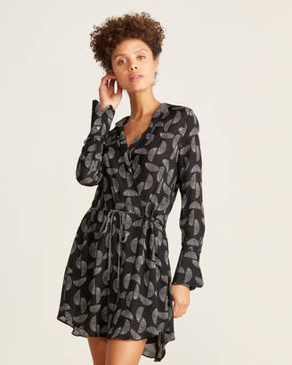 A.L.C. Isobel Print Silk Dress