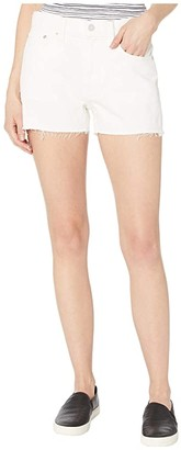 Lucky Brand Mid-Rise Relaxed Shorts in Bright White (Bright White) Women's Shorts