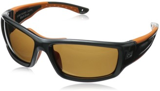 Gone Fishing Sunglasses Black Drum 244 Polarized Wrap Sungalsees