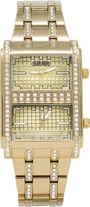 Jean Paul Gaultier Men's Analog Quartz Watch with Alloy Strap