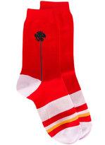 Paul Smith striped socks - women - Cotton/Polyamide/Spandex/Elastane - One Size
