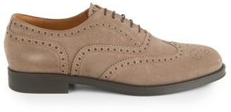 Giorgio Armani Suede Oxford Dress Shoes