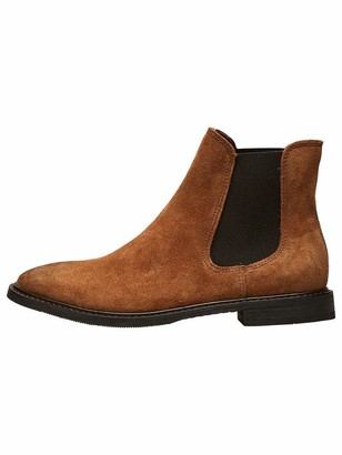 Selected Women's SLFBELLA Suede Chelsea Boot B