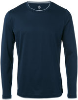 Eleventy crew neck sweatshirt - men - Cotton - S