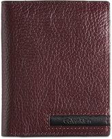Calvin Klein Men's Leather Front-Pocket Wallet & Keychain