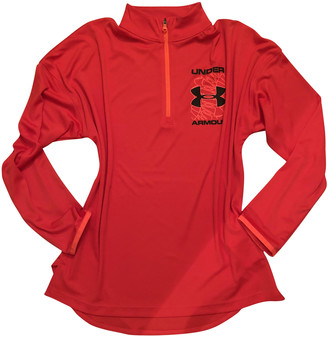 Under Armour Red Polyester Knitwear