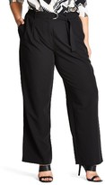 City Chic Plus Size Women's Karate Tie Pants
