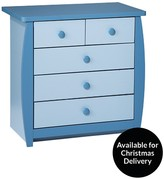 Kidspace Orlando Kids 3 + 2 Chest Of Drawers