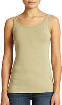 Lord & Taylor Petite Iconic Fit Slimming Tank Top