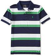 Ralph Lauren Big Boys 8-20 Wide Striped Short-Sleeve Polo Shirt