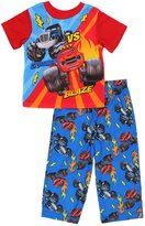 "Nickelodeon Blaze and the Monster Machines Little Boys' Toddler ""Vs"" 2-Piece Pajamas"