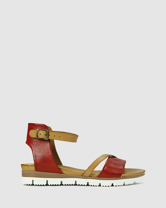 EOS Women's Brown Strappy sandals - Sode - Size One Size, 37 at The Iconic