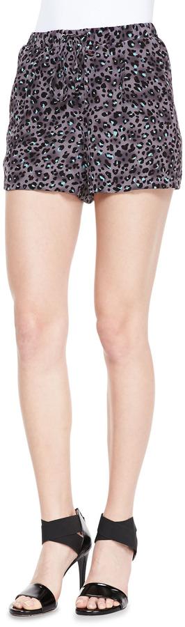 Rebecca Taylor Geo Clip-Brocade Sleeveless Top