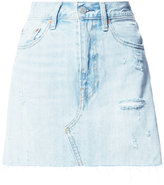 Levi's straight denim skirt