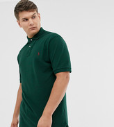 Polo Ralph Lauren Big & Tall icon logo pique polo in college green