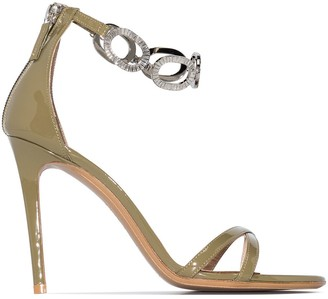 Alexandre Vauthier Bella 100mm chain strap sandals