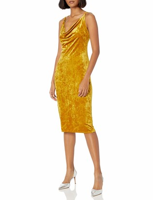 BCBGeneration Women's Velvet Slip Dress