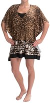 Kenneth Cole Palm Beach Instincts Tunic Cover-Up - Short Sleeve (For Women)