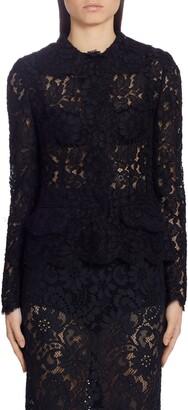 Dolce & Gabbana Sheer Lace Cardigan