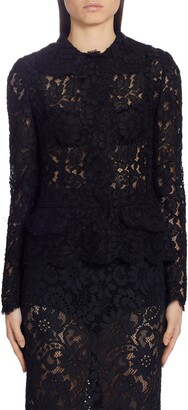 Dolce & Gabbana Sheer Lace Cardigan