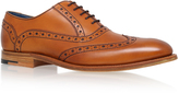 Barkers Grant Wing Cap Derby In Tan